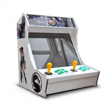 Máquina Bartop arcade con +15mil* juegos retro y 30* consolas clásicas. Pídelo en Lima solo en Jungla Arcade